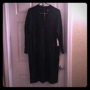 Black Eliza J Long-sleeve Dress